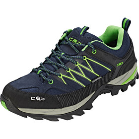 CMP Campagnolo Rigel Low WP Trekking Shoes Men Black Blue-Gecko